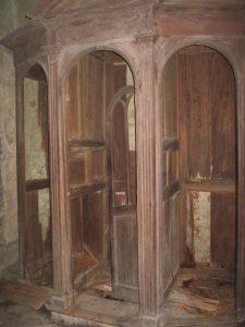 crypte de Saint Eutrope à Saintes