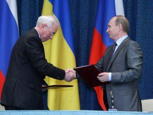 Подписание российско-украинских соглашений