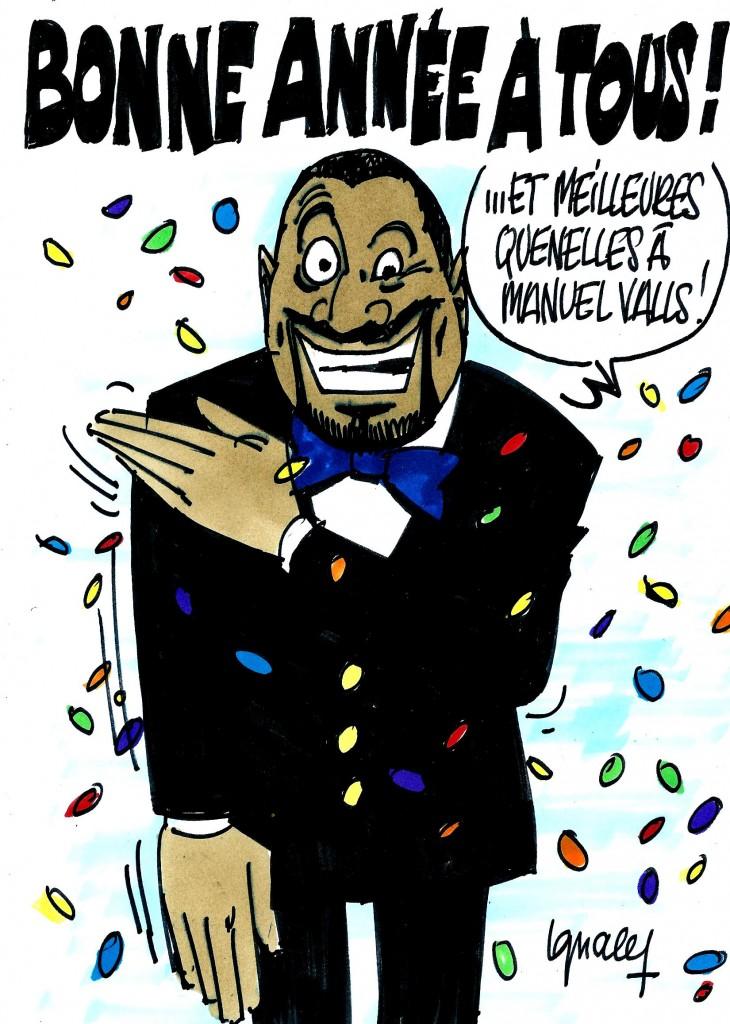 Ignace - Bonne année et meilleures quenelles à Manuel Valls !