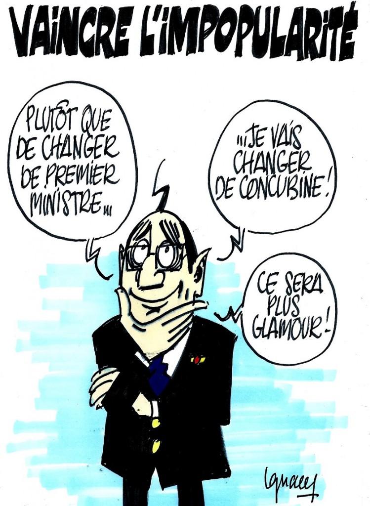 Ignace - Hollande veut vaincre son impopularité
