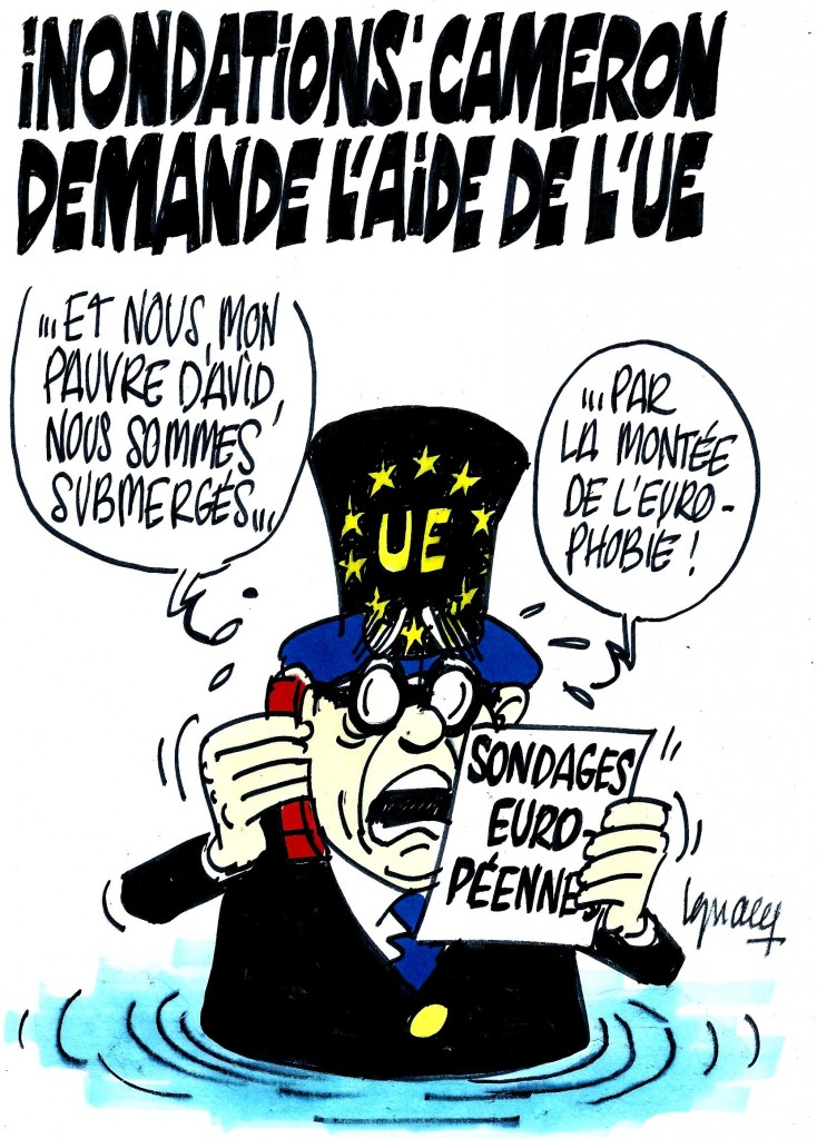 Ignace - Cameron demande l'aide de l'UE