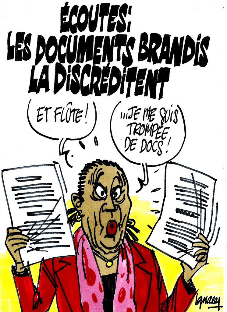 Ignace - Les documents discréditent Taubira
