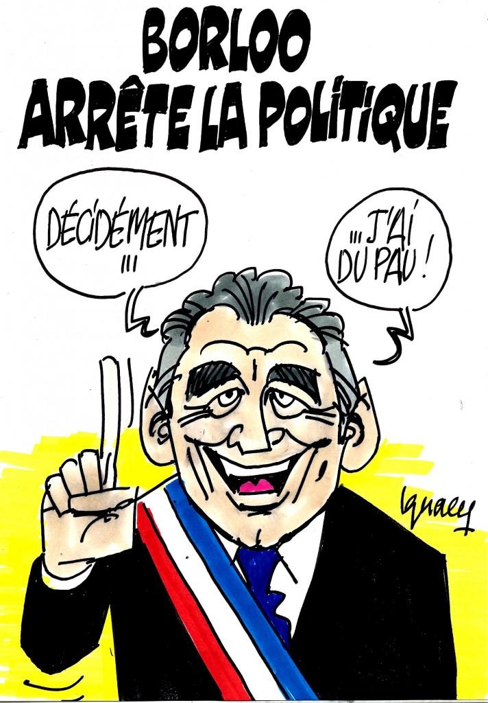 Ignace - Borloo arrête la politique