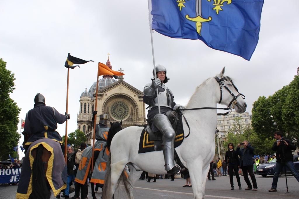 Jeanne d'Arc et ses chevaliers
