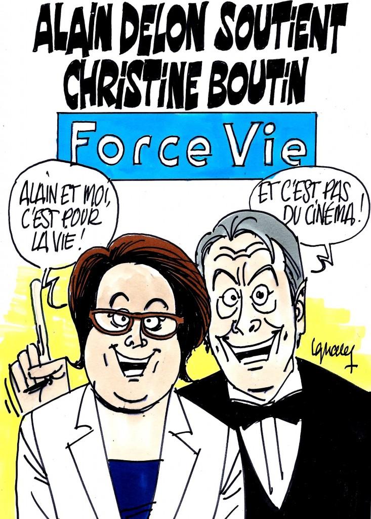 Ignace - Delon soutient Boutin