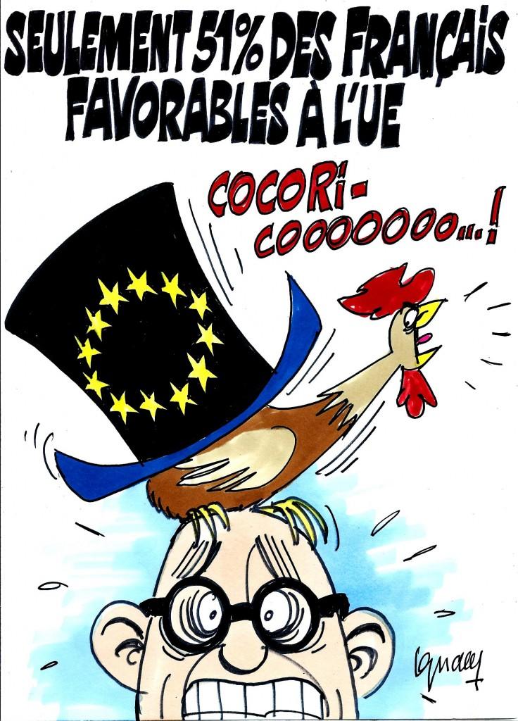 Ignace - 51% des Français pour l'UE