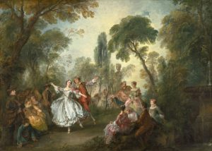 La Camargo dansant de Nicolas Lancret