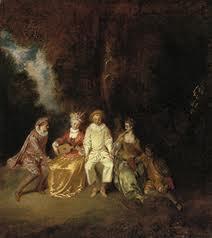 Pierrot content de Jean-Antoine Watteau
