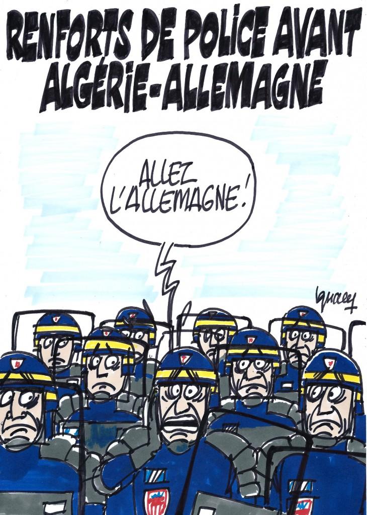 Ignace - Algérie-Allemagne sous tension