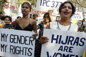 RALLY BY SEX WORKERS AND TRANSEXUALS IN BOMBAY.