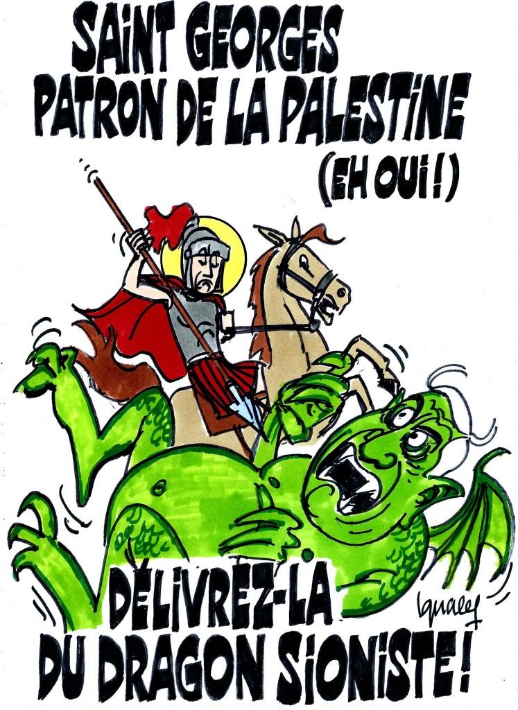 Ignace -Saint-Georges, délivrez la Palestine !