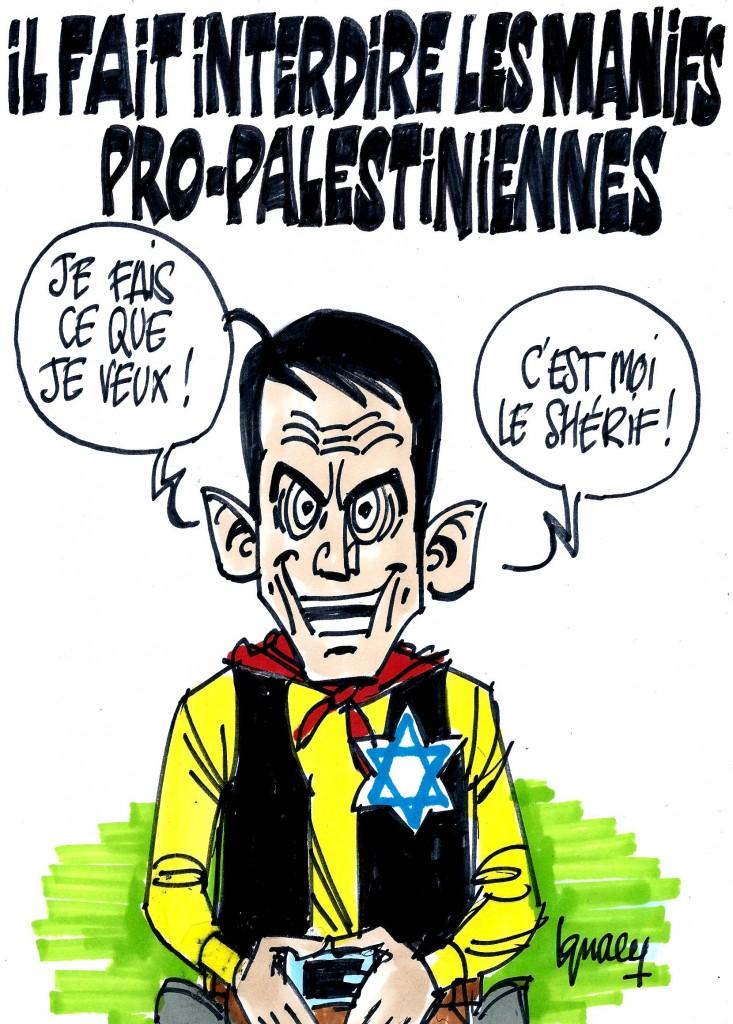 Ignace - Manifs pro-palestiniennes interdites