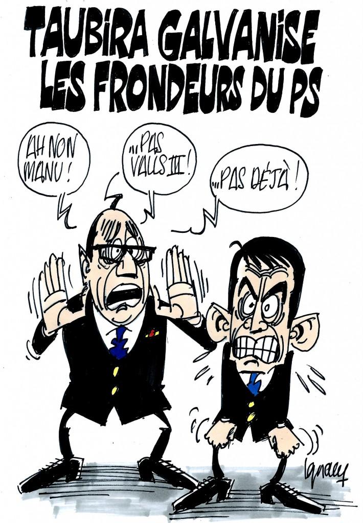 Ignace - Taubira galvanise les frondeurs du PS