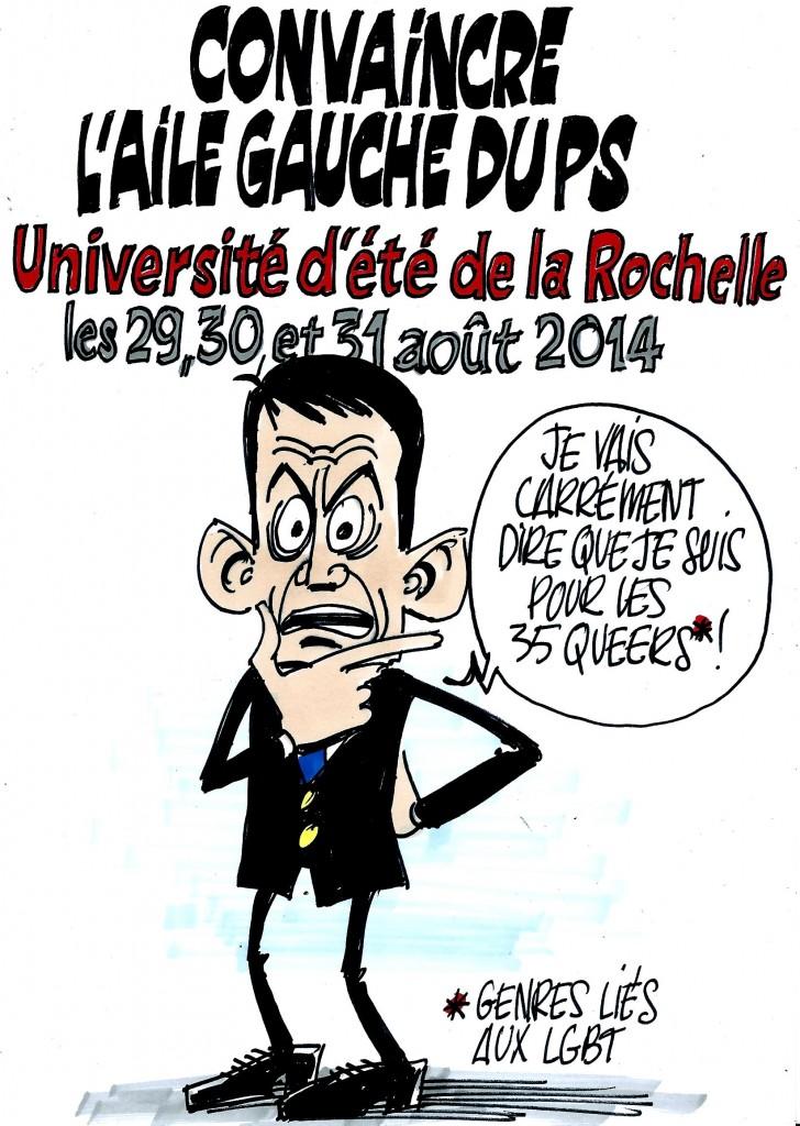 Ignace - Université d'été du PS