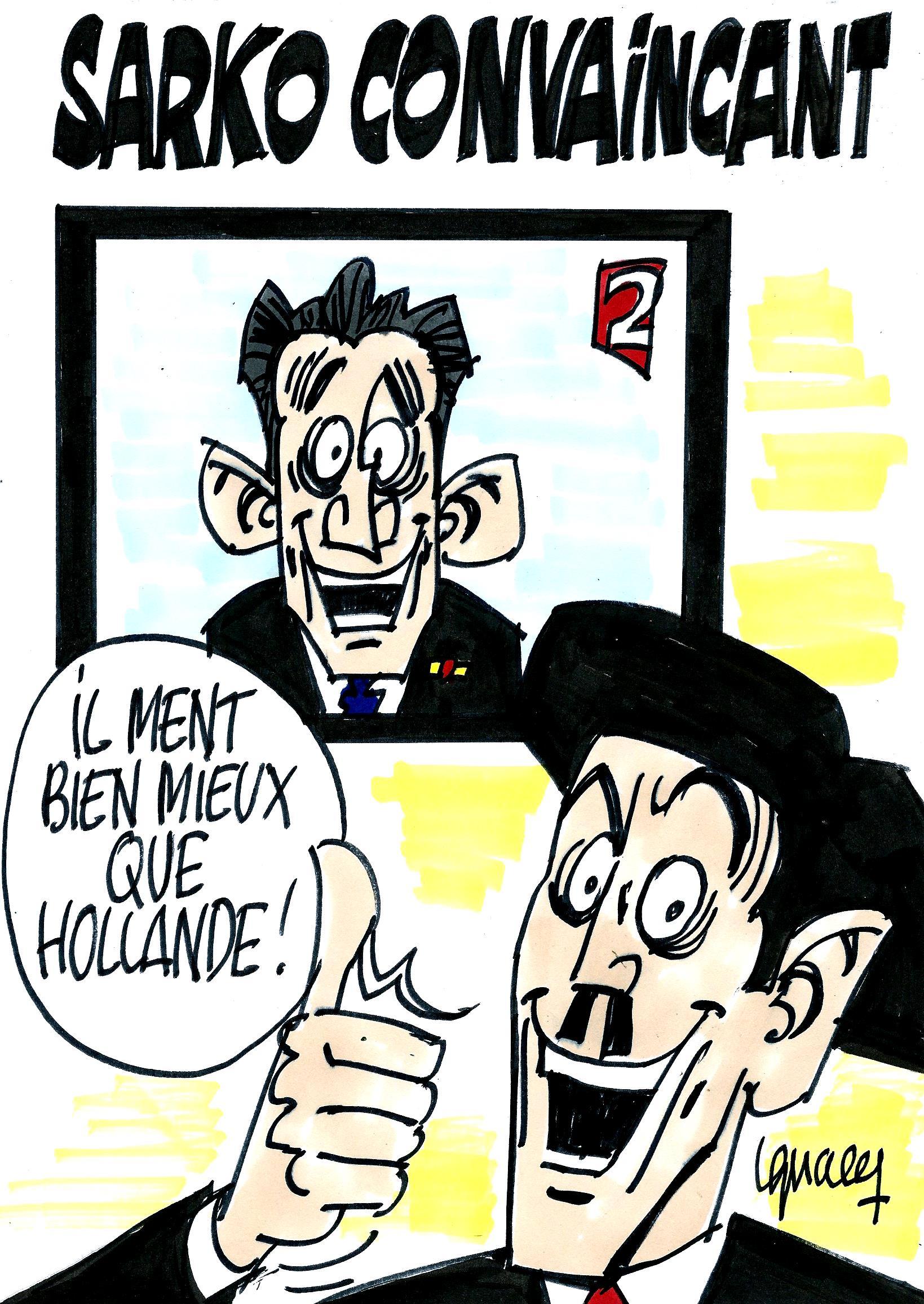 Ignace - Sarko convaincant