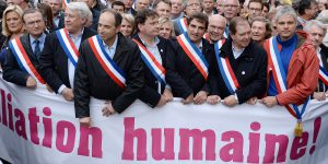 FRANCE-POLITICS-GAY-MARRIAGE-PROTEST