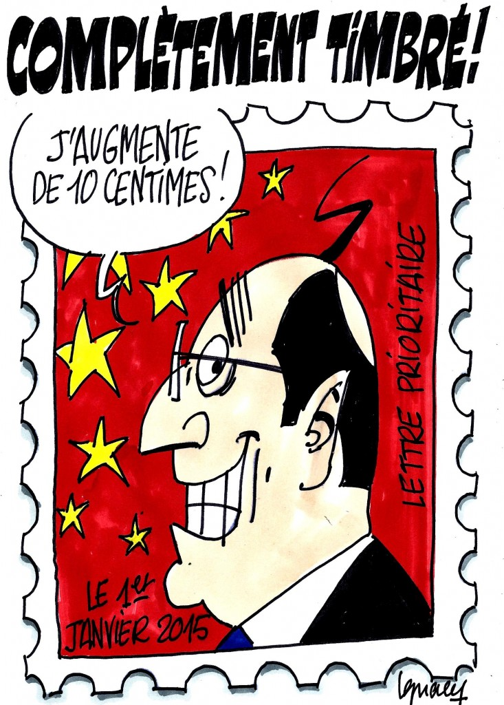 Ignace - Augmentation du prix du timbre