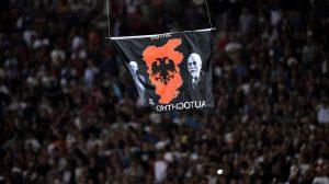 match-albanie-serbie-drone