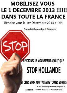 stop hollande