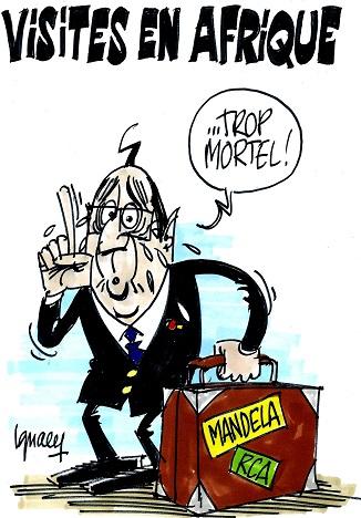 Hollande - Visites en Afrique