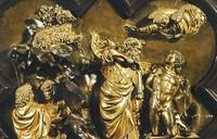 Le sacrifice d'Isaac par Ghiberti (1401)