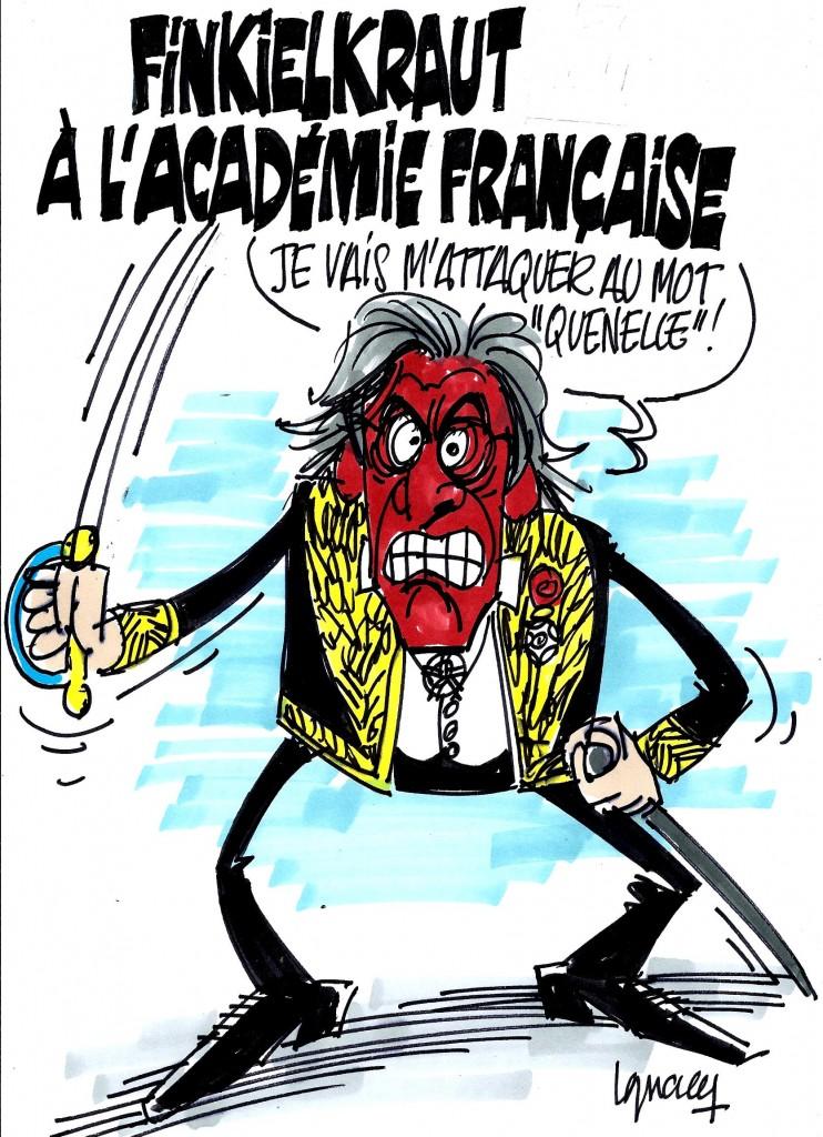 Ignace - Finkielkraut à l'Académie