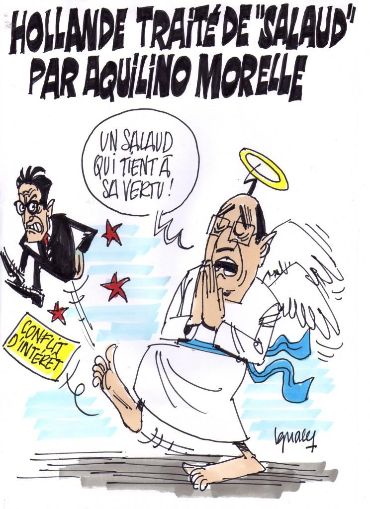"""Ignace - Hollande traité de """"salaud"""""""