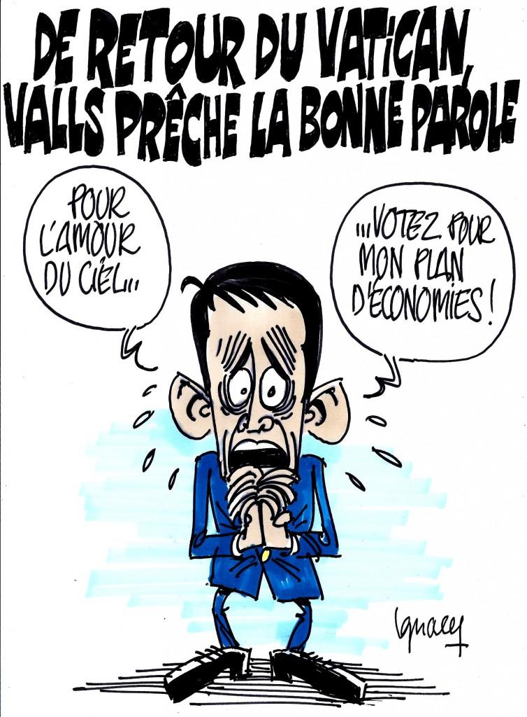 Ignace - Valls prêche la bonne parole