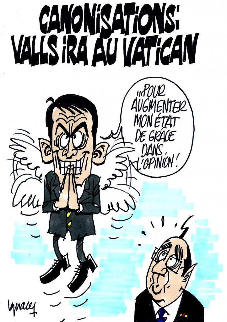 Ignace - Valls au Vatican