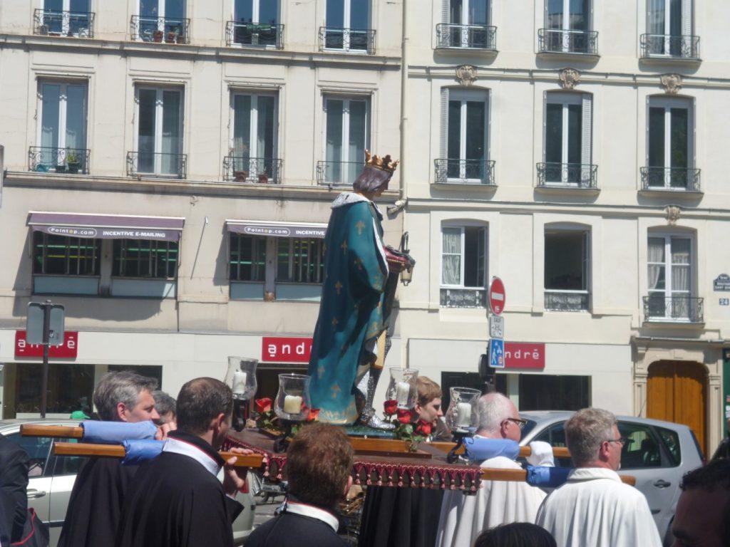 hommage saint louis