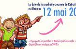 Le 12 mai, c'est la nouvelle Journée de Retrait de l'Ecole (JRE)