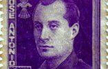 Valladolid oublie José Antonio Primo de Rivera