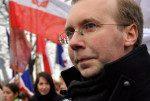 A la Marche pour la Vie, Alain Escada (Civitas) insiste sur la nécessité de faire de l'avortement un thème des prochaines élections