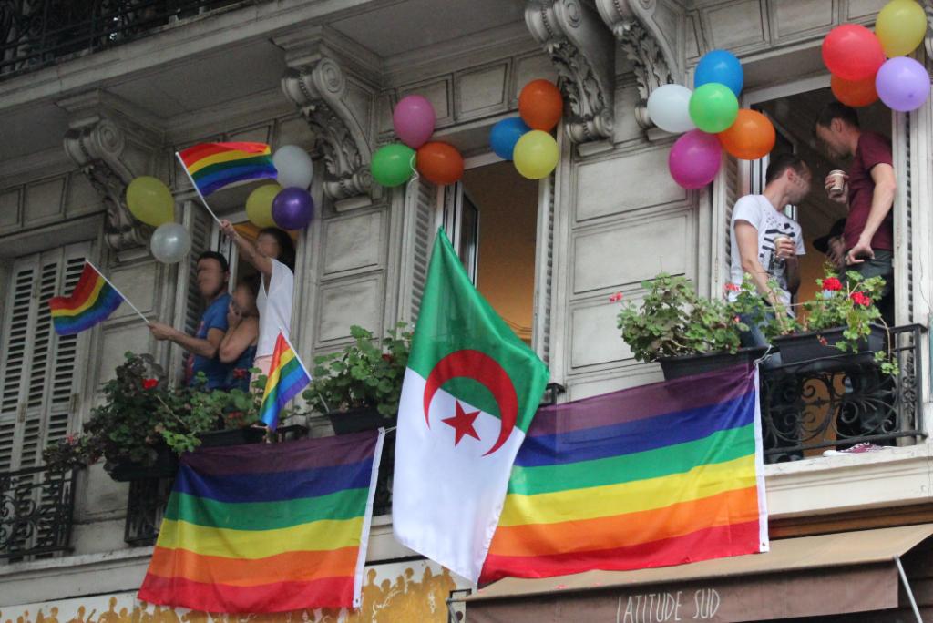 supporters au balcon