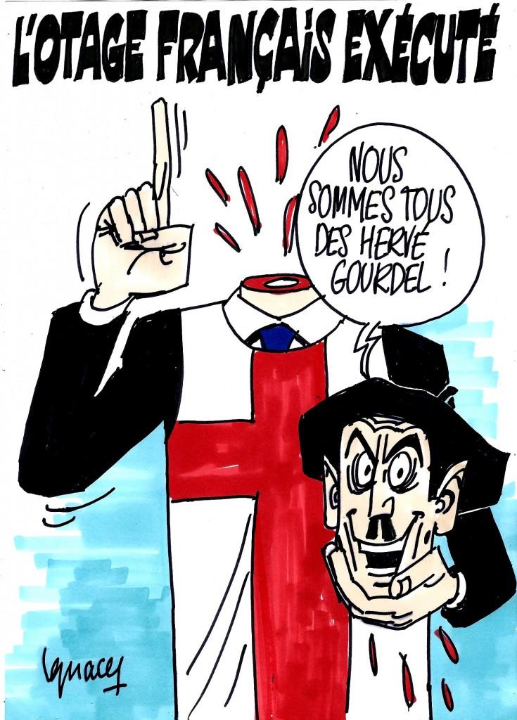 Ignace - Exécution de l'otage français