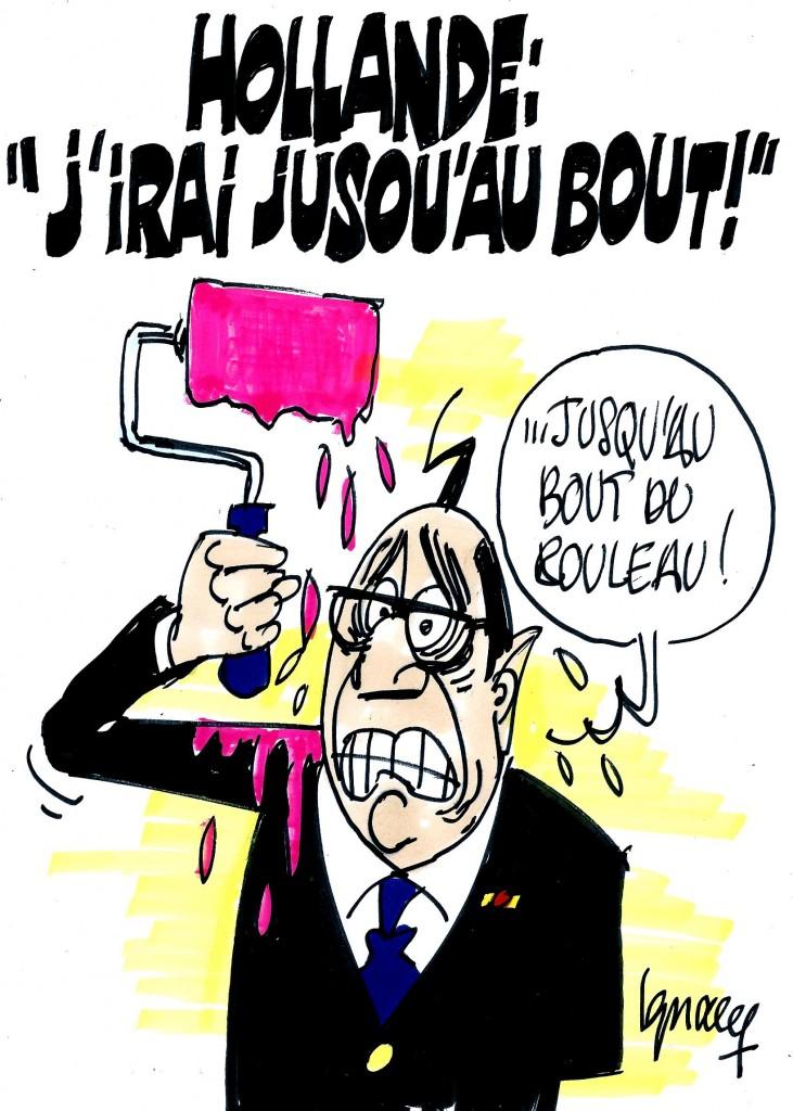 Ignace - Hollande et le quinquennat