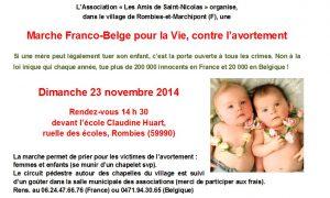 Marche 23 novembre pro-vie