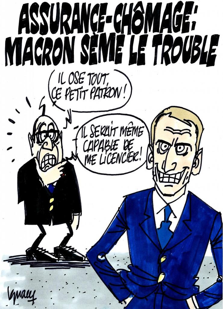 Ignace - Macron sème le trouble