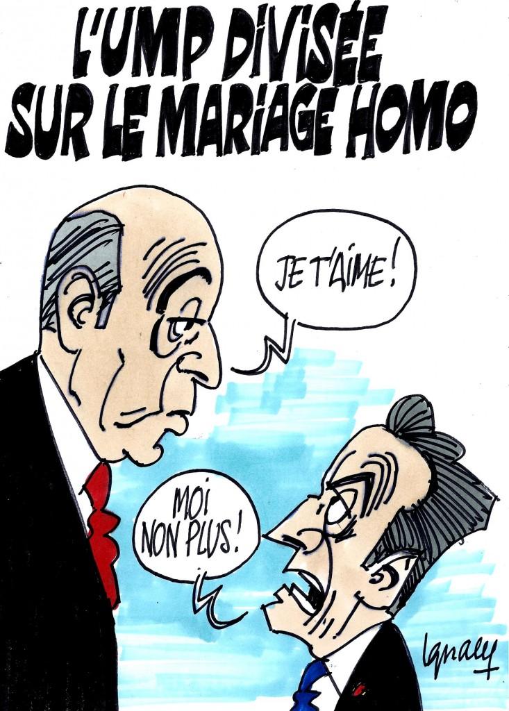 Ignace - L'UMP divisée sur le mariage homo