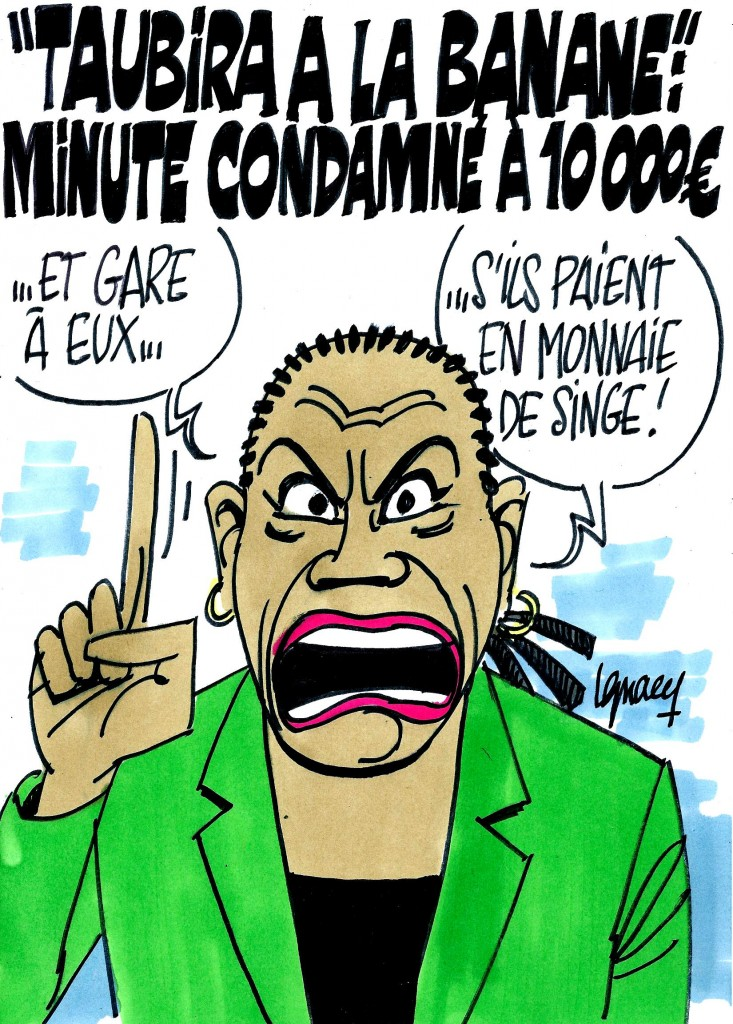 Ignace - Minute condamné à 10000 euros