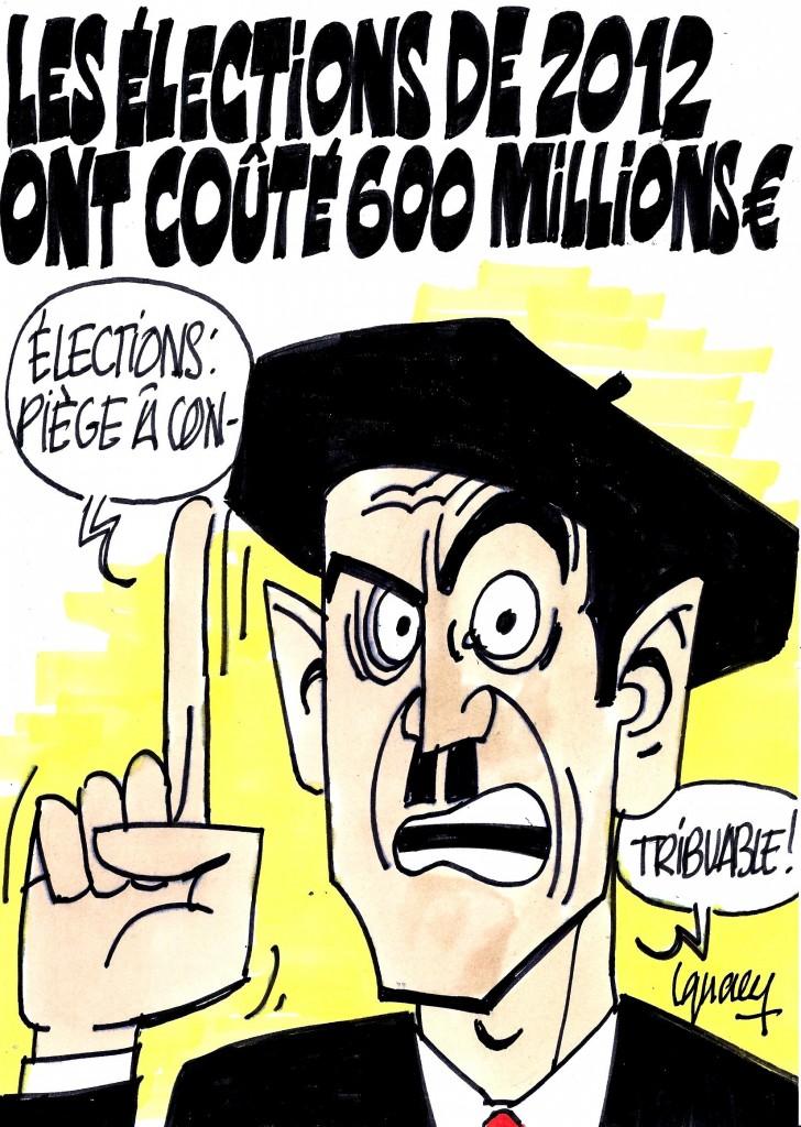 Ignace - Les élections de 2012 ont coûté 6 millions d'euros