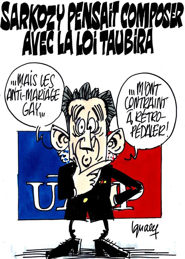 Ignace - Sarkozy contraint de se radicaliser