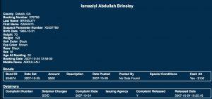 L'identité complète du meurtrier est Ismaaiyl Abdullah Brinsley
