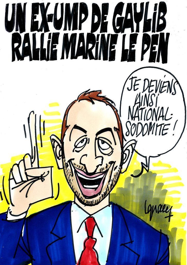 Ignace - Un ex-UMP de gaylib rallie Marine Le Pen