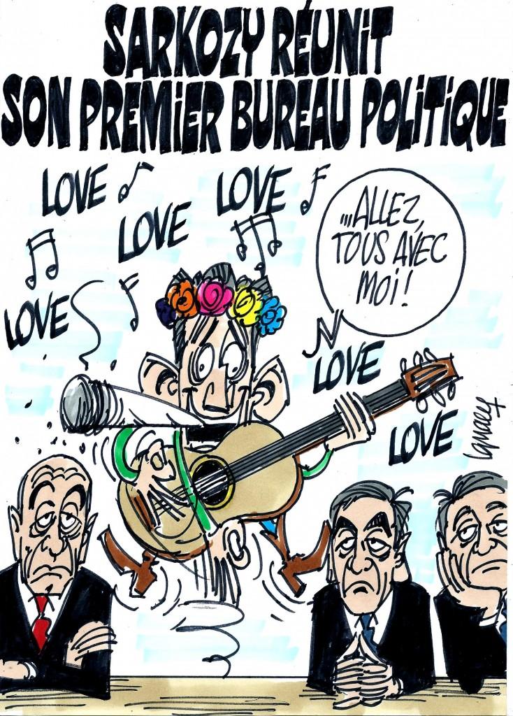 Ignace - Sarkozy réunit son premier bureau politique