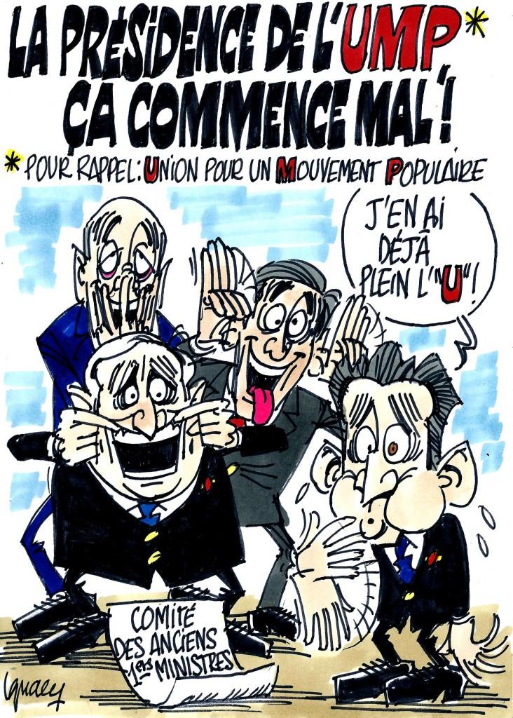 Ignace - La présidence de l'UMP commence mal