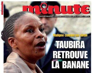 Taubira-a-la-banane-Minute-couverture