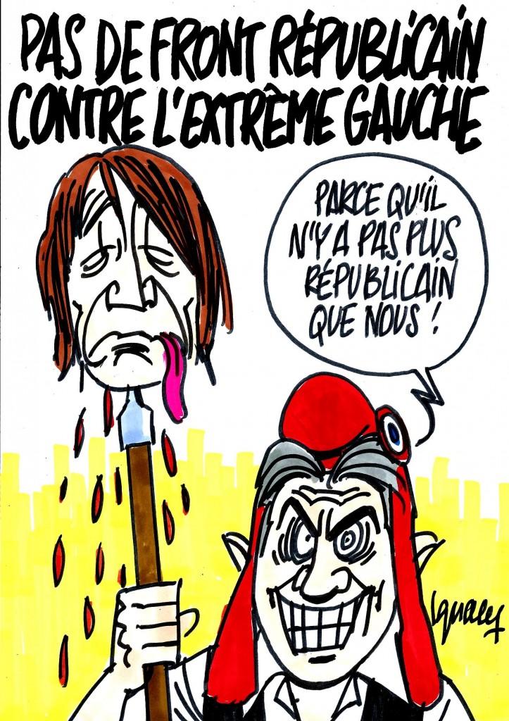 Ignace - Pas de front républicain contre l'extrême gauche