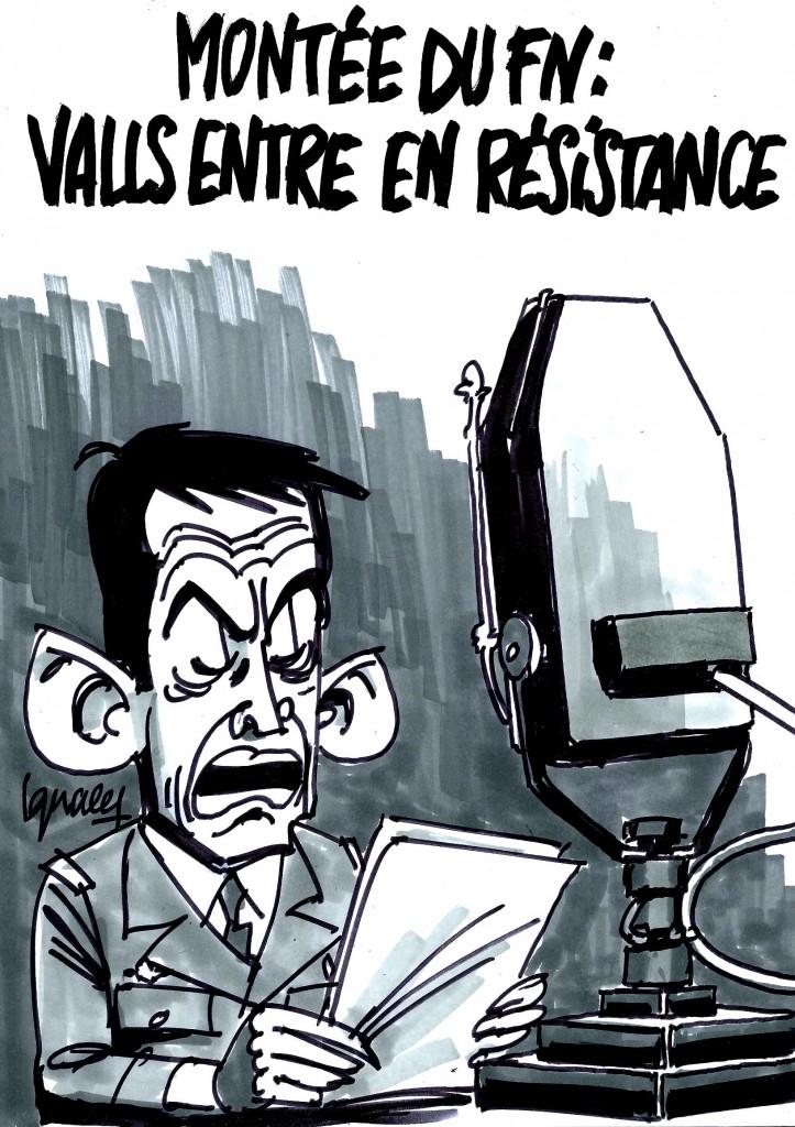 Ignace - Valls entre en résistance