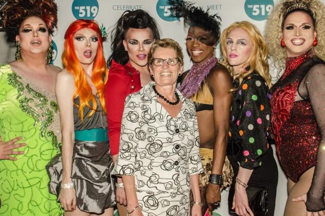 Kathleen Wynne en compagnie de quelques autres adeptes de la théorie du genre...